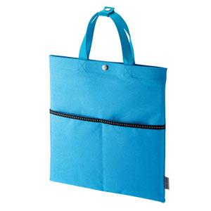 タブレット用トートバッグ(ブルー・PDA-IPAD1605シリーズ対応)