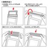 防水防塵タブレットケース(スタンド・ショルダーベルト付き・12.9インチ・ブラック)