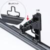 【オフィスアイテムセール】プロジェクタースクリーン壁掛け式(アスペクト比4:3・100型相当)
