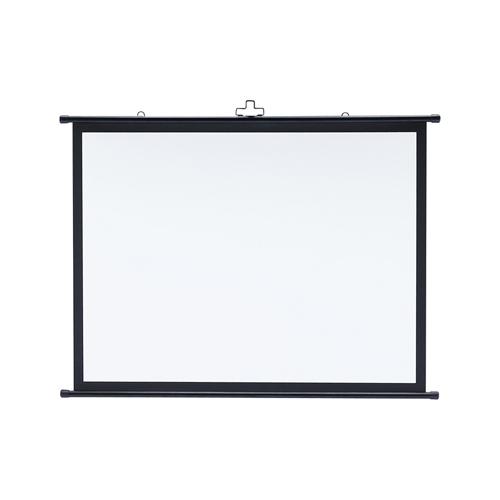 【わけあり在庫処分】プロジェクタースクリーン壁掛け式(アスペクト比4:3・50型相当)