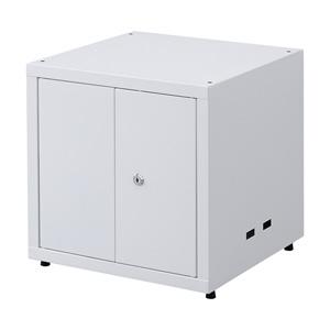 セキュリティボックス(鍵付き・棚板2枚)