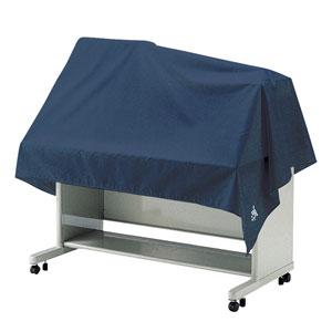 マルチカバー(W2000×D1500mm・防塵・静電気防止・コバルトブルー・大きめサイズ)