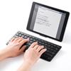 Bluetoothキーボード iPad iPhone用パンタグラフ式 アイソレーション 英語配列 ブラック