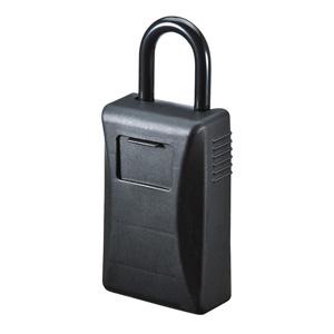 セキュリティ鍵収納ボックス(シャッター付き・4桁ダイヤル)