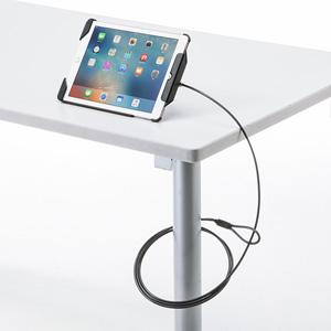 9.7インチiPad Pro/iPad Air 2/Air対応セキュリティ(ブラック)