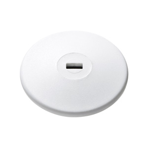 eセキュリティ(両面テープ取り付けタイプ・薄型取付部品・ホワイト)