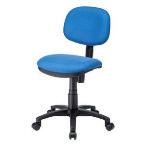 オフィスチェア(高耐荷重・環境配慮・低ホルムアルデヒド・ブルー)