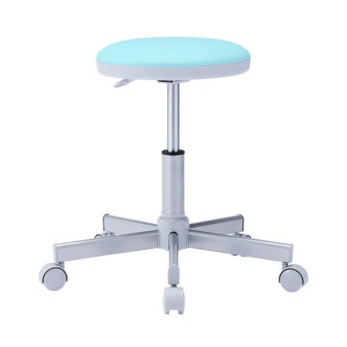 丸椅子(グリーン・病院向け・背もたれ無し)