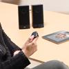 Bluetoothマルチメディアリモコン(スマートフォン・メディアプレーヤー・音楽配信アプリ操作・ステアリングリモコン・車用・両面テープ固定可能)