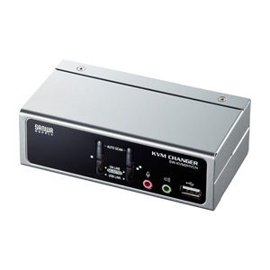 USB・PS/2コンソール両対応パソコン自動切替器(2:1)