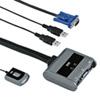 パソコン切替器(USB接続・エミュレーション非搭載・手元スイッチ付き)