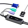 手元スイッチ付きパソコン自動切替器(2:1)