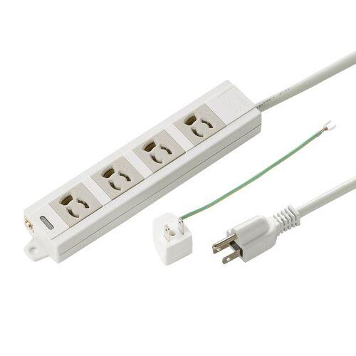 電源タップ(3P・4個口・3m)