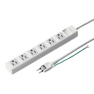 電源タップ(3P・6個口・5m)
