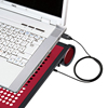 ノートパソコンクーラー(16Wまで・レッド・USB電源タイプ・熱暴走対策)