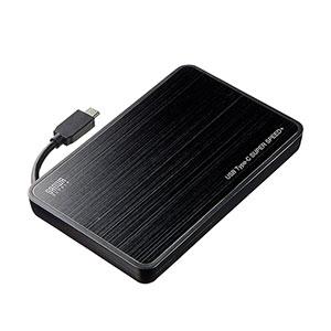 USB Type-C Gen2対応2.5インチハードディスクケース