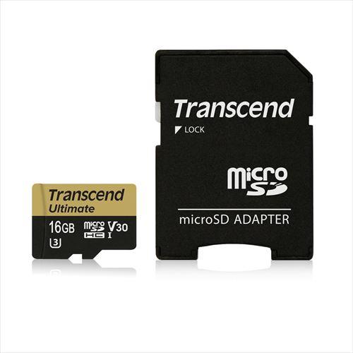 【Nintendo Switch 動作確認済 】Transcend microSDHCカード 16GB Class10 UHS-I U3 V30対応 U3Mシリーズ TS16GUSDU3M