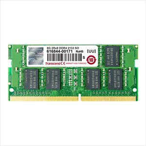 Transcend ノートPC用増設メモリ 8GB DDR4-2133 PC4-17000 SO-DIMM TS1GSH64V1H