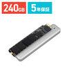 トランセンド SSD  Macbook Air専用アップグレードキット 240GB TS240GJDM500 JetDrive 500