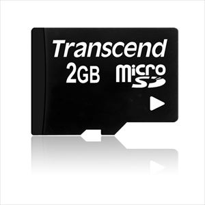 Transcend microSDカード 2GB TS2GUSDC