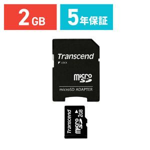 Transcend microSDメモリカード(2GB)