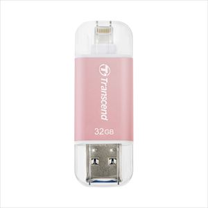 Transcend Lightning・USBメモリ 32GB JetDrive Go 300 USB3.1(Gen1)対応 TS32GJDG300R