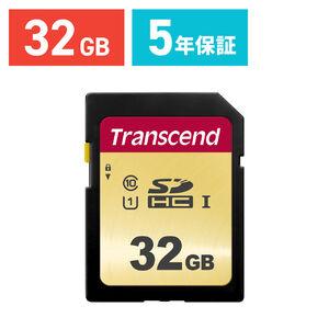 Transcend SDHCカード 32GB Class10 UHS-I TS32GSDC500S