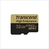 Transcend microSDHCカード 32GB Class10 高耐久 ドライブレコーダー向け SDカード変換アダプタ付 TS32GUSDHC10V