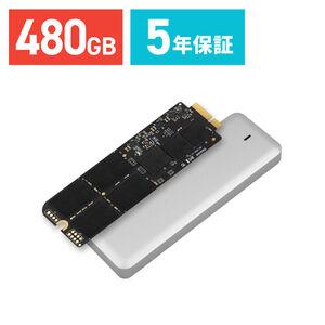 """トランセンド SSD  MacBook Pro Retina 15""""専用アップグレードキット 480GB TS480GJDM725 JetDrive 725"""