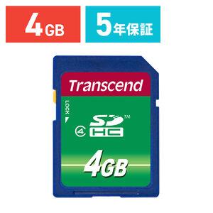 Transcend SDHCカード 4GB Class4 TS4GSDHC4