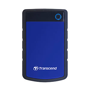 Transcend 外付けハードディスク StoreJet 25H3 4TB USB3.1 Gen1対応 耐衝撃シリコンケース TS4TSJ25H3B