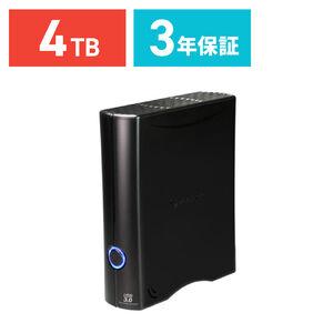 Transcend 外付けHDD 4TB USB3.0対応 3.5インチ StoreJet 35T3 TS4TSJ35T3