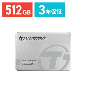 Transcend 512GB 2.5インチ SATAIII SSD TS512GSSD230S