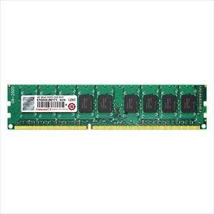 Transcend デスクトップPC用増設メモリ 4GB DDR3-1333 PC3-10600 ECC DIMM TS512MLK72V3N