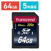 Transcend SDXCカード 64GB Class10 TS64GSDXC10