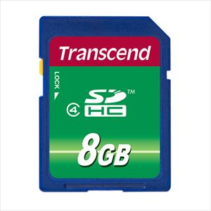 Transcend SDHCカード 8GB Class4 TS8GSDHC4