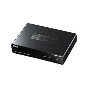 4K/60Hz対応HDMI分配器(2分配・HDR/HDCP2.2対応・PS5対応)