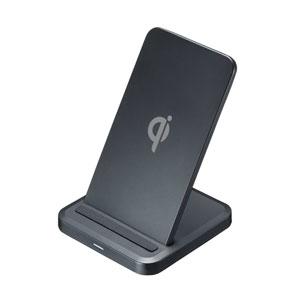 ワイヤレス充電器(置くだけ充電・充電スタンド・5W・Qi対応)